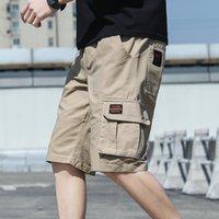 Pantaloncini da uomo 2021 Summer Sports Casual Pants in cotone Camouflage mezzo mezza vita a vita capris multi tasca larga grande
