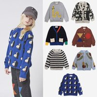 Pullover EnkeliBB Children Winter Jumpers Kids Brand Clothes Super Fashion Boy And Girl Sweaters Cartoon Pattern Tops Keep Warm