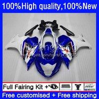 Carrozzeria per Suzuki Katana GSX 650F GSXF 650 BIANCO BLUE 2009 2009 2010 2011 2012 2013 2014 29NO.77 GSXF-650 GSXF650 GSX-650F 08-14 GSX650F 08 09 10 11 12 13 14 Fairings