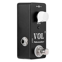 Golf Training Aids MOSKYO VOL Attenuator Mini Pedal Electric Guitar Effect With True Bypass Full Metal Shell Accessories
