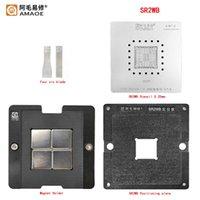 Mac için Reballing Stencil İstasyonu Kitleri YM2300C4T4MFB W614TB37 SR40F SR40B SR32S SR23G SR15F SR3RZ SR2WB SR2C4 SR1YJ SLJ8E Profesyonel El