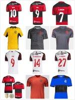Flamengo Soccer Jerseys 2021 2022 Hombre Mujer Camisetas Diego E.Ribeiro Gabriel B. Gabi Jersey Jersey Pedro Traje de entrenamiento Desgaste Camisa Mengo 21/22 Vest Player + Fans Version