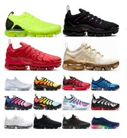 패션 2021 뉴 플러스 TN 여성 운동화 신발 TN Plus Mens 트레이너 평균 녹색 대학 레드 야외 조깅 트레이너 스 니 커 즈 큰 크기 12