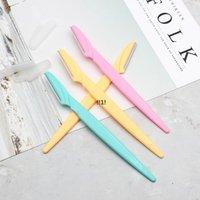 Couteaux de rasoir à sourcils Femmes Epilateur Source Source Source Supérieur Rasage de rasage 3 couleurs EWB5865