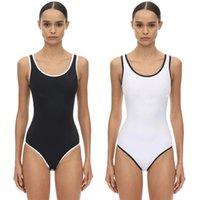 ملابس السباحة بيكيني ملابس نسائية المايوه الأزياء ملابس السباحة البوليستر اللون الطبيعي الأسود S M L XL قطعة واحدة مثير grils السباحة الاستحمام الدعاوى ملابس السباحة