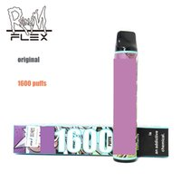 Vêtements jetables 1600 Puffs Bar plus XXL Cigarette électronique Cigarette électronique R et M Flex 850mAh Batterie 6ML Randm Pods Cartouche Packaging