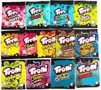 sour candy Edibles gummy mylar bag trolli trrlli Errlli edibles Gummies packaging bags smell proof resealable zipper pouch 600mg