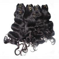 Fashion Queen Bulk Hair 3pcs lot 50g pezzo corpo onda indiano capelli umani tessitura con consegna veloce