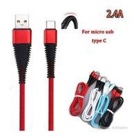 عالية المقاومة كابل USB 1 متر 3ft 2a شحن مزامنة البيانات شحن الحبل usb نوع c كابلات للهاتف S10 ملاحظة 10 زائد