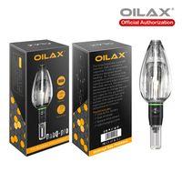 Original Oilax DABQ-PRO 650MAH Dry Herb Vaporizer Kit Wachs Verdampfer Stift Kräutertemperaturregelung Ecig Vape-Stifte 100% authantisch