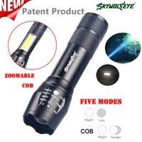 Skywolfeye Outdoor Mini Cob Aluminum Xpe 4Modes Zoomable Light Home Viajes Aventura Lighting # 3J19 Linternas Antorchas