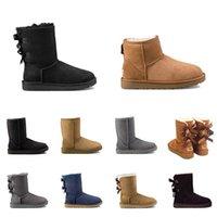 2021 الإصدار WGG مصمم النساء الأحذية أستراليا الكلاسيكية الأزياء سنو بووتي كاحل التمهيد الشتاء الكستناء المرأة 36-41