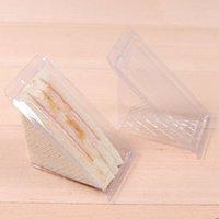 Boîtes d'emballage à gâteaux de tarte en plastique PIZZA SLICE BOX CASSY PASSY Conteneur transparent