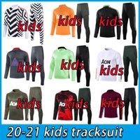2021 Kids United Trainingsanzug Trainingsanzug Jungen Martial Rashford Football Jacket Sportswear Foot Jogging Utd Soccer