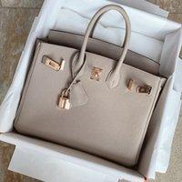 2021 새로운 큰 가방 정품 가죽 Litchi 패턴 여자 휴대용 메신저 가방 신부 가방 악어 패턴