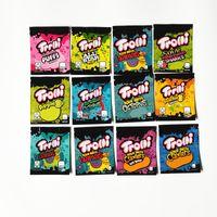 사워 브레이트 낙지 Medicated Mylar Bag Trolli Trrlli Errlli Edibles Gummies 포장 냄새 증거 Resealable 지퍼 파우치 600mg