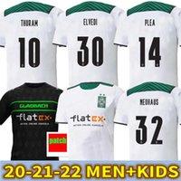 21 22 Borussia Monchengladbach Jerseys de Fútbol Versión del Jugador 2021 2022 Hogar Gladbach Elvedi Plea Zakaria Neuhaus Ginter Thuram Men Kit Kit Kit Foootball Shirts