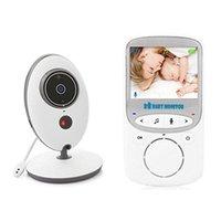 Vidéo numérique sans fil Baby Monitor Caméra Musique Intercom Vb605 Deux Way Talk Back Surveillance Portable Cameras Cameras Moniteurs