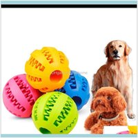 Supplies Gardensupplies Home & Gardenrubber Chew Ball Dog Training Toys Toothbrush Chews Toy Food Balls Pet Product 5 Cm W-00319 Drop Delive