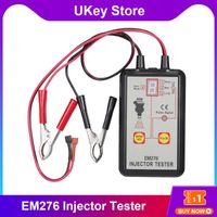 Code-Reader Scan-Tools EM276 Professionelle Kraftstoffinjektor-Tester 4 PLUSE-Modi Leistungsstarkes Systemwerkzeug für 12V-Fahrzeugbatterie-Diagnose