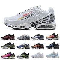 Nike air max plus 3 tn mens running shoes Topography Pack 트리플 화이트 블랙 하이퍼 og 클래식 네온 남성 여성 트레이너 스포츠 스니커즈 Tiger Laser Blue Ghost Parachute Aqua 36-46