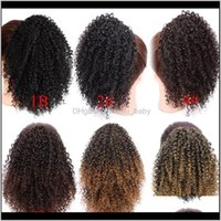 8 Inches Drawstring Puff Afro Kinky Curly African American Short Wrap Synthetic Clip In Extensions Aisi 9Vqzi Ponytails 3Wrlz