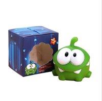 비닐 환경 친화적이고 안전한 소재 장난감 Mung Bean Frog Squeeze Call Cartoon Doll 홈 장식 플라스틱 사운드 물 장난감