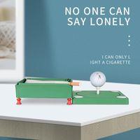 Golf Training Aids Personalized Creative Multifunctional Tissue Box Ashtray Shape Decoration Portable Practical Gift