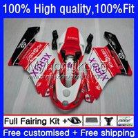 Spritzgießkörper für Ducati 749s 999s 2003-2006 749-999 749 999 03 04 05 06 Körperarbeit 15No.72 749R rot weiß 999R 03-06 749 999 S R 2003 2004 2005 2006 OEM Fairing Kit