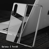 Clear Protector TPU Hard Phone Cases For Samsung Galaxy Z Fold 3 5G Flip S21 Shockproof Screen Protectors Transparent Back Cover