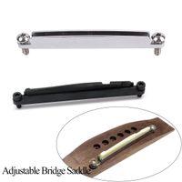 Strumenti di sella regolabili per chitarra per chitarra per accessori acustici di chitarra parti Strumento musicale a corda