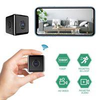 Webcam W10 Mini Wifi Kamera HD Kamera Gece Görüş Ev Güvenlik IP CCTV Hareket Algılama Bebek Monitörü Küçük