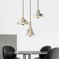 Pendant Lamps Nordic Led Stone Deco Chambre Chandelier Monkey Lamp Kitchen Dining Bar Commercial Lighting Bedroom Room