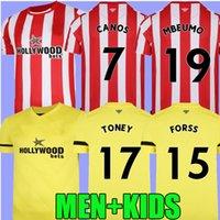 Fc brentford 21 كرة القدم الفانيلة المنزل بعيدا الأصفر fosu mbeumo توني dasilva forss canos camisetas 2021 2022 mailleot دي القدم الكبار الرجال عدة كرة القدم قميص الأعلى تايلاند