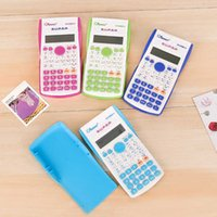 Calculators 82ms Color Calculator primary and secondary school students stationery multi function computer battery science calculator