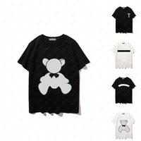 21SS Horse Womens Mode T-shirt Herren Sommer T-shirt Lässige Buchstaben Muster T-Shirts Aktiv Drucken T-Stück Hiphop Streetwear-Tops atmungsaktive asiatische Größe S-2XL