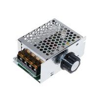 OOTDTY AC 220 V 4000 W Yüksek Güçlü SCR Hız Kontrol Elektronik Gerilim Regülatörü Vali