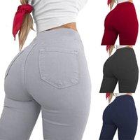 Брюки повседневные брюки женские леггинсы стиль сексуальные высокие талии карандаш брюки карман