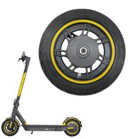 Skateboarding Front Wheel For Ninebot Max Kickscooter 10Inch Hub With 60 70-6.5 Vacuum Tire Assembly Spare Parts