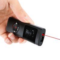 MINI MINI Infravermelho Rangefinder USB Carregando 40M Portátil Laser Range Finder Medidor de Distância Distribuição Medidor