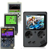Portable Game Players Rerto Gamebox Mini Handheld Console 3.0 Inch Kids Color Player Built-in 168 Video Games