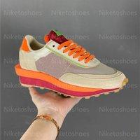 Clots x LDwaffel Frauen Laufschuhe Net Orange Blaze Green Bean Herren Outdoor Sports Sneaker Casual Runner Kuss des Todes