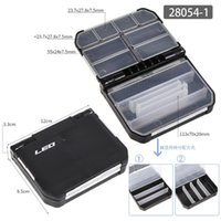 Fishing Accessories Semi-automatic Tackle Box Plastic Lure Hooks Storage Boxes Case Double Side Bait