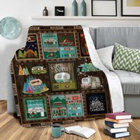 150 * 130см печати текстовые фланелевые одеяло кроватный диван NAP корпус обертывается крышка теплый тихий шепотом постельное белье подарок дочь сладкий сон
