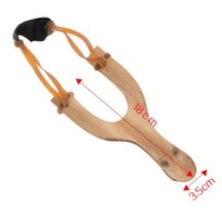 Hölzerne interessante Slingshot String im Freien Material Jagd Qualität Katapult Gummi Spaß traditionelle chilsren spielzeug Top Requisiten Jsuea 1020 v2