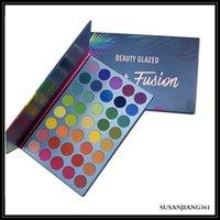Epack Beauty Glazed Eyeshadow Palette 39 ألوان ظلال العيون لون خلطة rainbow لوحة ماتي لامع ماكياج عينيه الوجه تسليط الضوء