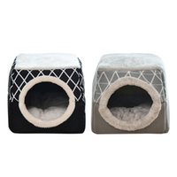Cat Beds & Furniture Soft Pet Bed Kennel Dog Winter Warm Sleeping Resting Nest Puppy Cushion Mat Washable House Pets Supplies