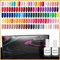 Nail Gel Polish Set 6pcs Color Soak Off LED UV Semi Permanent Varnish All For Manicure Art Kit