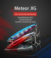 New Japanese-Style Shore Cast Bionic Bait Metal Lead Fish Lure Lures Iron Sequined Die Fishing Lures Bait