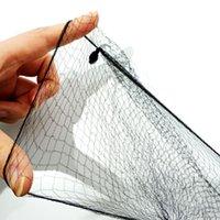 Atmungsaktive unsichtbare Hairnets für Perücke Einweg-Haarnetz Weiche elastische Netze Perücken tragen